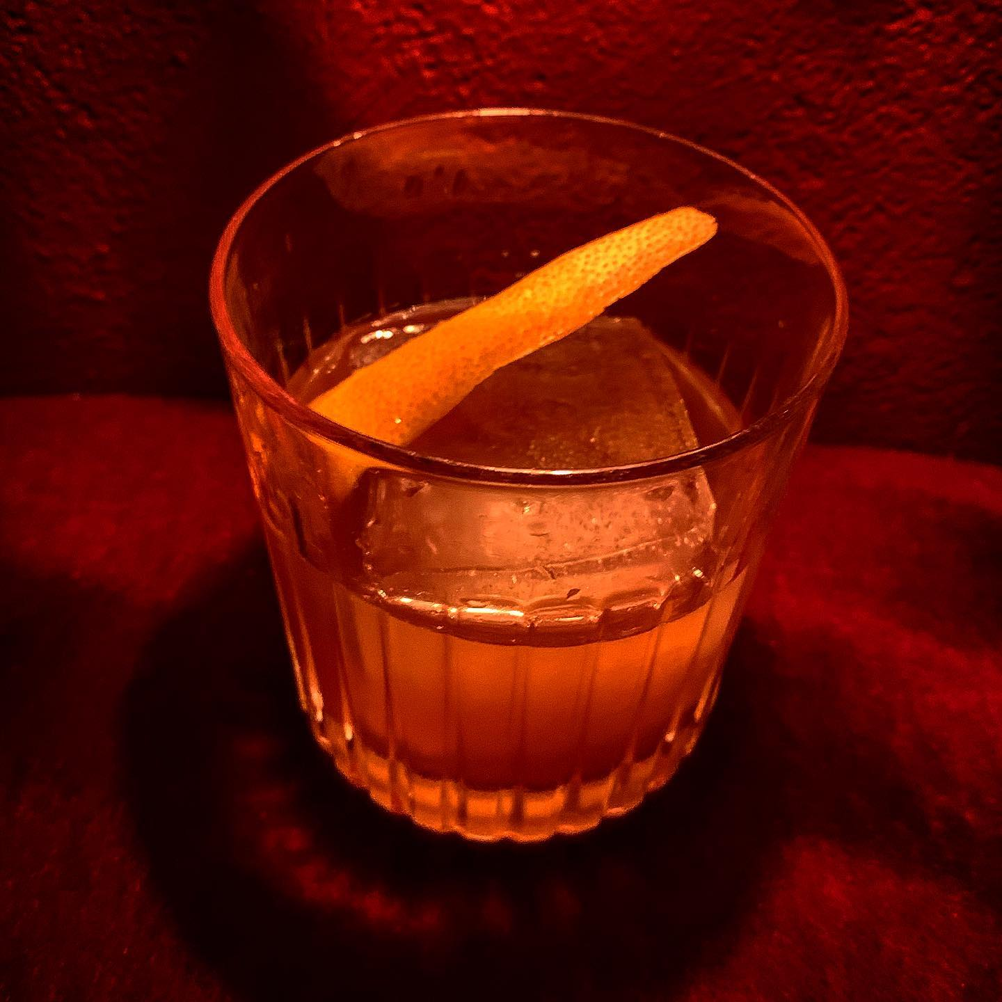 Veckans Cocktail:Mangrove -Rom, Cynar, Falernum, Grapefruitjuice #cocktail#cocktails